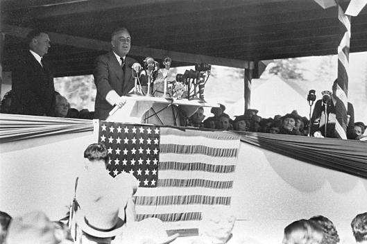 Franklin D. Roosevelt - Photo by Bonneville Power / Flicker