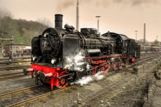 steam locomotive cruz